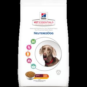 neutered dog large breed
