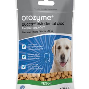 Orozyme Bucco-fresh Dental Croq Veggie grote hond